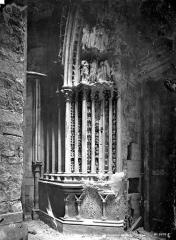 Basilique Saint-Denis - Portail de la façade sud : ébrasement gauche