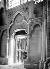 Basilique Saint-Denis - Petite porte latérale sud