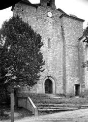 Ancienne église des Bénédictins - Façade ouest