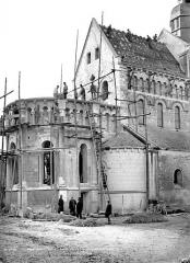 Eglise Saint-Genou (ancienne abbatiale) £ - Abside, côté nord