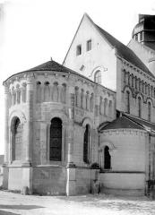 Eglise Saint-Genou (ancienne abbatiale) £ - Abside, côté nord-est