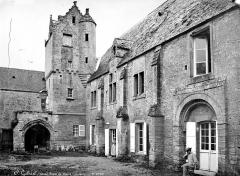 Restes du prieuré de Saint-Gabriel, puis Centre d'apprentissage horticole - Vue d'ensemble