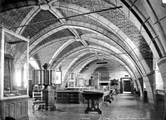 Domaine national de Saint-Germain-en-Laye, actuellement Musée des Antiquités Nationales - Salle voûtée