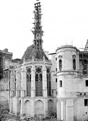 Domaine national de Saint-Germain-en-Laye, actuellement Musée des Antiquités Nationales - Chapelle, côté est