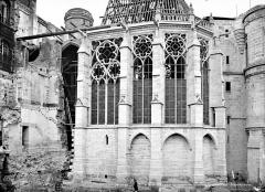 Domaine national de Saint-Germain-en-Laye, actuellement Musée des Antiquités Nationales - Chapelle : abside, côté sud