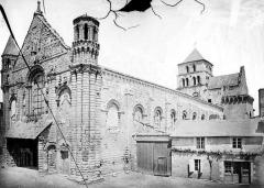 Ancienne abbaye Saint-Jouin - Ensemble sud-ouest