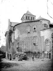 Ancienne abbaye Saint-Jouin - Abside