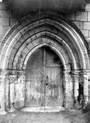 Eglise Saint-Jacques - Portail de la façade ouest