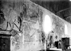 Eglise Saint-Jacques - Peintures murales