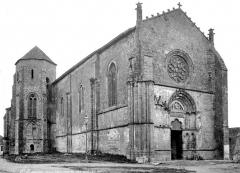Eglise Saint-Sauveur-et-Saint-Martin - Ensemble nord-ouest