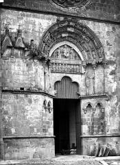 Eglise Saint-Sauveur-et-Saint-Martin - Portail de la façade ouest