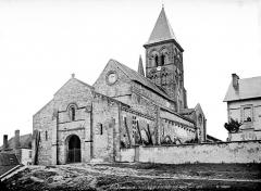 Eglise Saint-Menoux - Ensemble sud-ouest