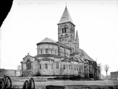 Eglise Saint-Menoux - Ensemble nord-est
