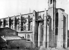 Basilique Sainte-Marie-Madeleine£ - Façade sud et abside