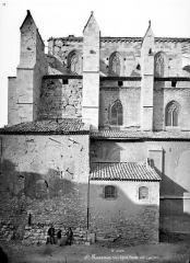 Basilique Sainte-Marie-Madeleine£ - Façade sud : partie ouest