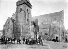 Eglise Saint-Marcel - Ensemble nord