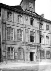 Hôtel de ville - Façade sur rue