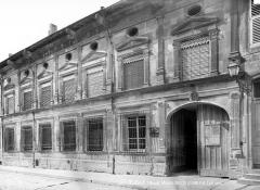 Ancien Hôtel de Faillonnet ou maison des gargouilles - Façade sur rue