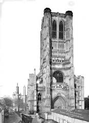 Ancienne abbaye de Saint-Bertin - Ensemble ouest