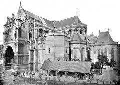 Collégiale, puis cathédrale Notre-Dame, actuellement église paroissiale Notre-Dame - Ensemble sud-est