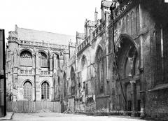 Collégiale, puis cathédrale Notre-Dame, actuellement église paroissiale Notre-Dame - Façade nord et transept