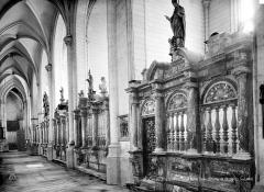 Collégiale, puis cathédrale Notre-Dame, actuellement église paroissiale Notre-Dame - Clôture de chapelle
