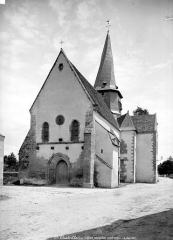 Eglise collégiale Saint-Austrégésile - Ensemble sud-ouest