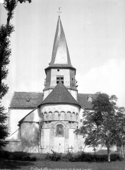 Eglise collégiale Saint-Austrégésile - Ensemble est