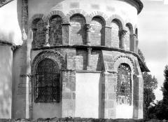 Eglise collégiale Saint-Austrégésile - Abside, côté sud