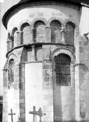 Eglise collégiale Saint-Austrégésile - Abside, côté nord