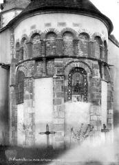 Eglise collégiale Saint-Austrégésile - Abside, côté est