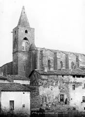 Eglise Saint-Pargoire - Angle sud-ouest