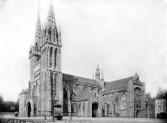 Ancienne cathédrale Saint-Paul-Aurélien - Ensemble sud-ouest