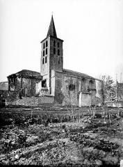 Ancienne abbaye de Saint-Papoul - Ensemble nord-est