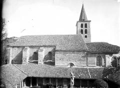 Ancienne abbaye de Saint-Papoul - Façade sud