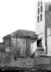 Ancienne abbaye de Saint-Papoul - Abside, côté nord