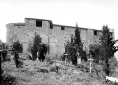 Eglise Saint-Privat - Façade nord