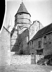 Eglise Saint-Robert - Eglise, ensemble sud-ouest
