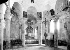 Eglise Saint-Robert - Eglise, vue intérieure du transept nord