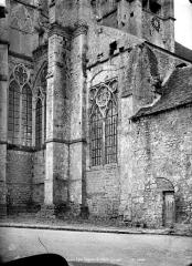 Eglise Saint-Sulpice - Abside : fenêtres