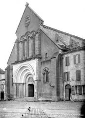 Eglise abbatiale - Façade ouest