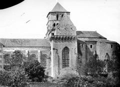 Ancienne abbaye Saint-Jouin - Façade sud