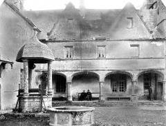 Domaine du château de Talcy - Galerie et puits