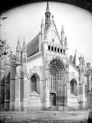 Château des Ducs de la Trémoïlle - Chapelle : façade ouest