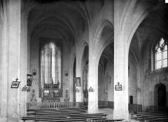 Château des Ducs de la Trémoïlle - Chapelle : Vue intérieure de la nef, vers le sud-est