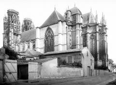 Ancienne cathédrale Saint-Etienne et son cloître - Ensemble sud-est