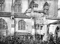 Ancienne cathédrale Saint-Etienne et son cloître - Façade sud : chapelle
