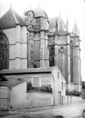 Ancienne cathédrale Saint-Etienne et son cloître - Abside, côté sud