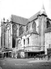 Eglise Saint-Gengoult et son cloître - Abside, côté sud
