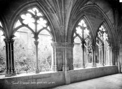 Eglise Saint-Gengoult et son cloître - Cloître : arcades intérieures de la galerie nord